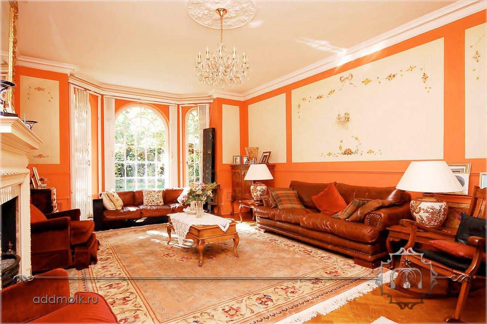 Дизайн гостиной в викторианском стиле