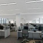 дизайн интерьера офисного зала