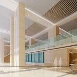 дизайн входа в бизнес центра