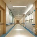дизайн коридора в больнице
