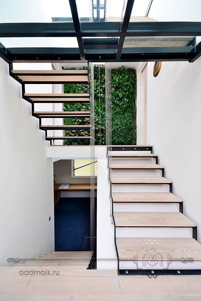 Лестницы в стиле минимализм