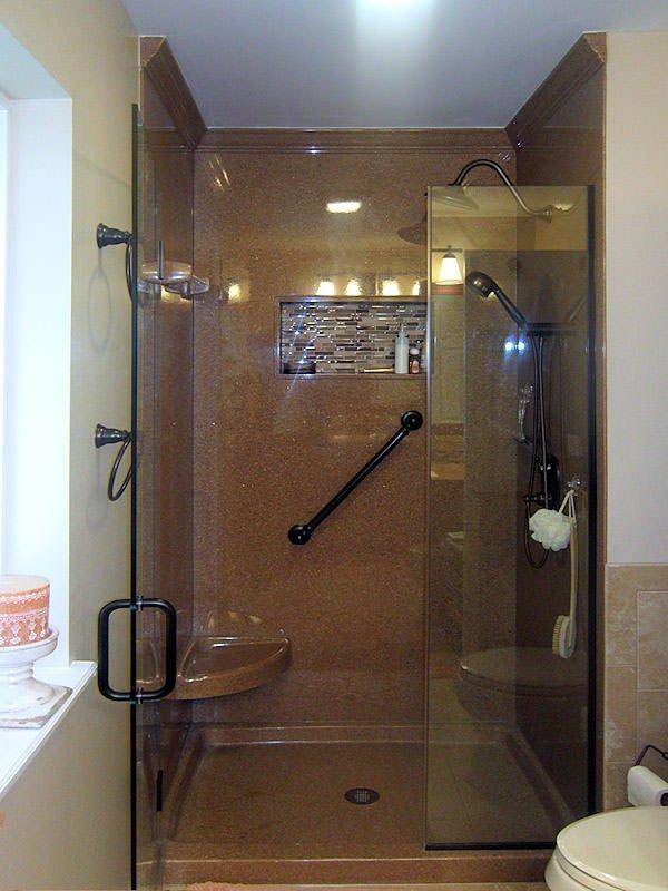 отелка ванной искусственным камнем