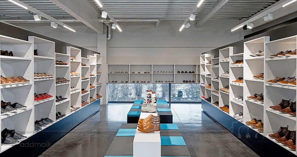 фото дизайн магазина обуви