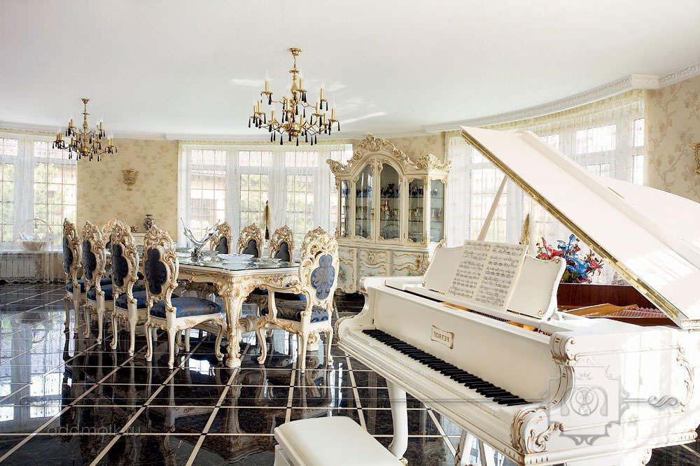 Роскошный дом в стиле барокко, фото Роскошные Дома в Стиле Барокко