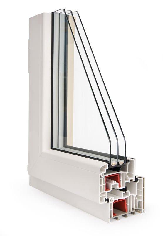 трехкамерное окно