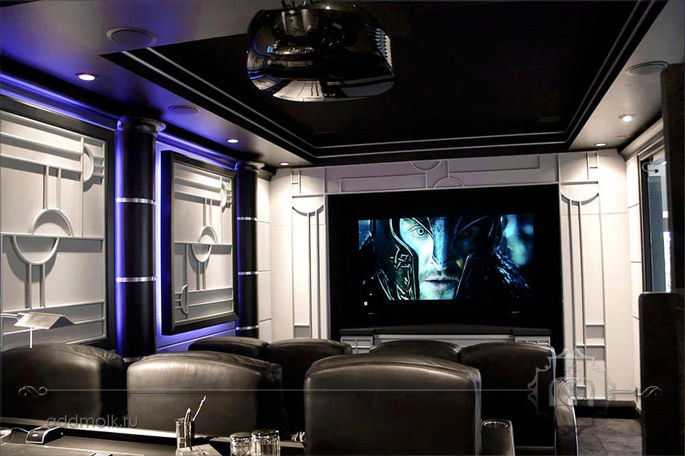 современный дизайн кинотеатра