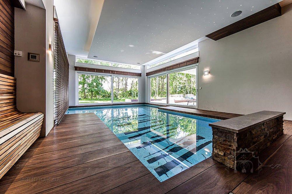 современный бассейн