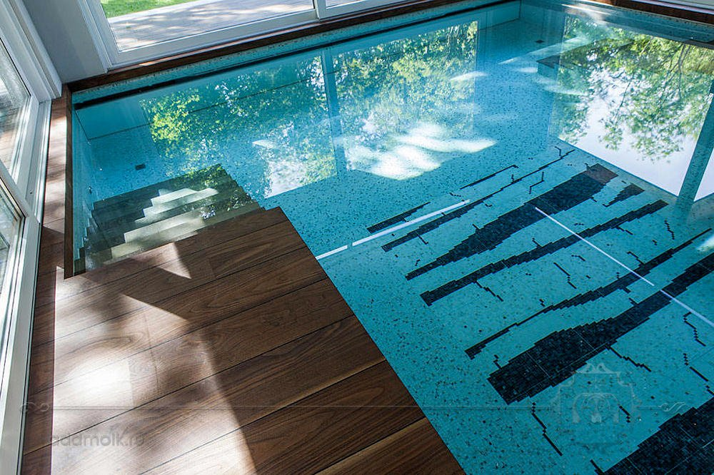 дизайн современного бассейна