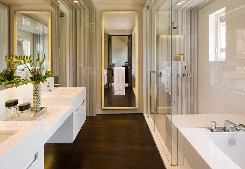 водостойкий ламинат в ванную