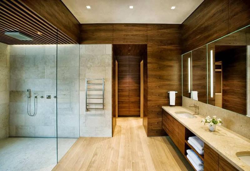 водостойкий ламинат в ванную комнату