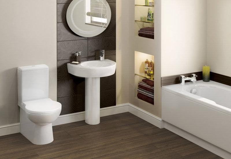 водостойкий ламинат в туалете