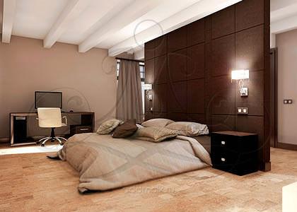 дизайн двухэтажного дома в Подмосковье