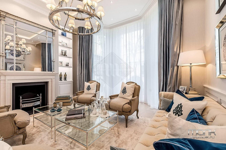 дизайн дома современная классика