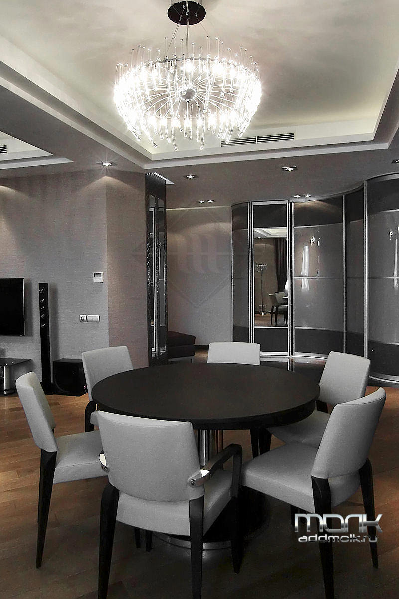 современная квартира с дизайном