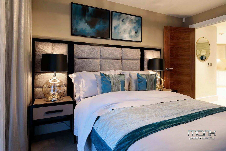 современная квартира с двумя спальными